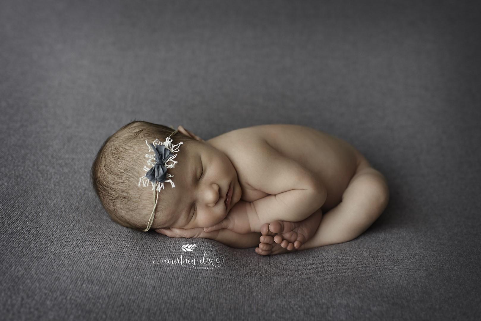 Newborn photography studio session canton ga gabriella courtney elise photography